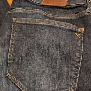 Alley Straight Madewell Jeans